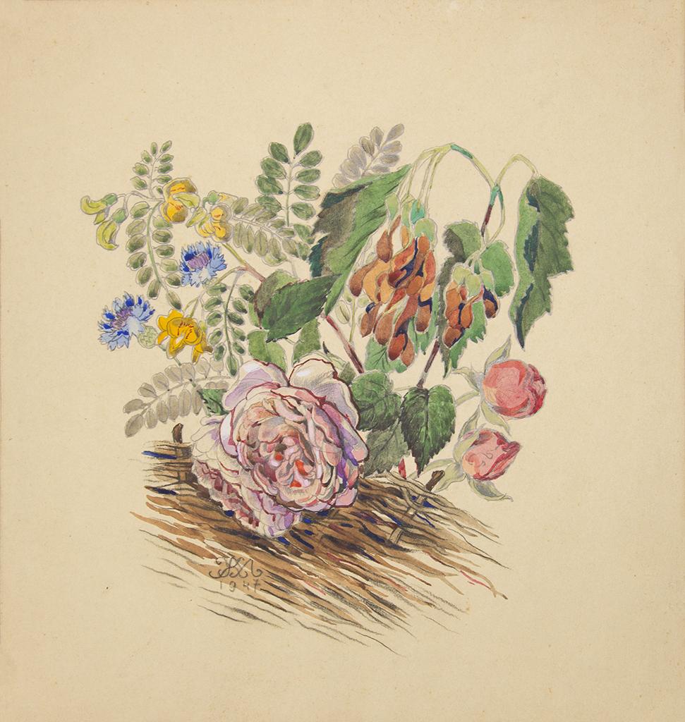 """Жук М.І. """"Квіти"""" 1947"""