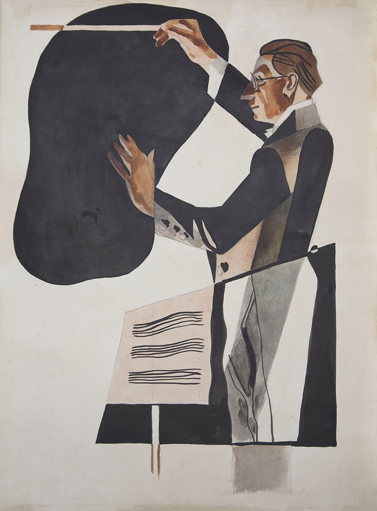"Petrytzky Anatol G. ""Portrait of the composer Verykivsky"" 1930"