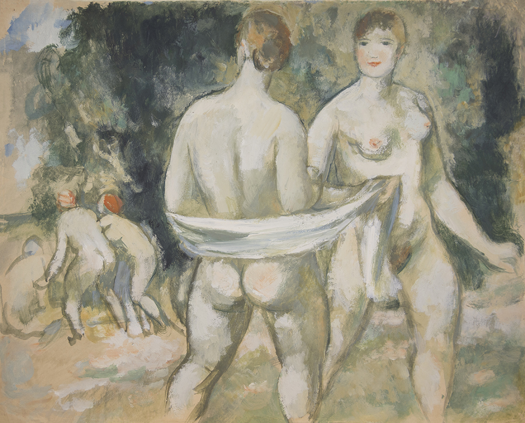 "Shevchenko Alexander V. ""Women who bath"" 1929"
