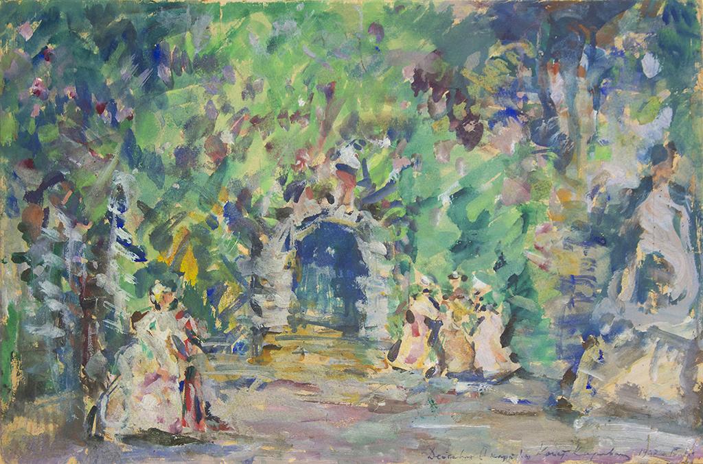 """Коровін К.О. """"Грот корсара"""" 1907"""